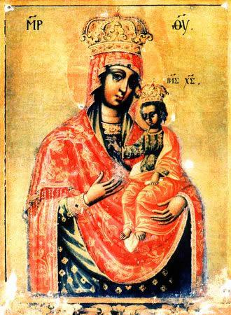 Ильинско - Черниговская икона Божией Матери