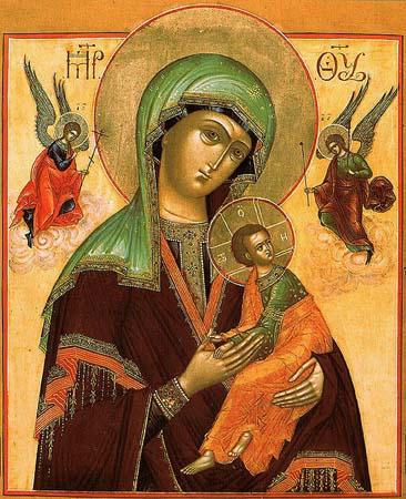 Икона Божией Матери именуемая Страстная